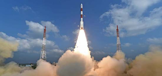 <p>ISRO launched a world record 104 satellites on PSLV C37 rocket from the Sriharikota spaceport in Andhra Pradesh on February 15, 2017</p>