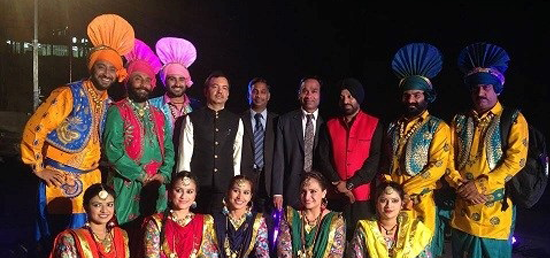 <p>&quot;Red Coral&quot; Dance group led by Ms. Preeti with High Commissioner Shri Kumar Tuhin. Red Coral presented an energetic and vibrant dance at Zoo Park Amphitheatre, Windhoek on 13 Oct 2015. The performance was organised by High Commission of India in coordination with Indian Council for Cultural Relations, New Delhi and Namibian Ministry of Education, Arts and Culture. It was enjoyed by more than 700 persons.The event was organized at Zoo Park Amphitheatre.</p>