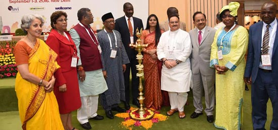 <p>Mr Bernard Haufiku, Minister of Health, Government of Namibia, visited India to participate in India-Africa Health Sciences Meet from Sep 1-3, 2016.</p>